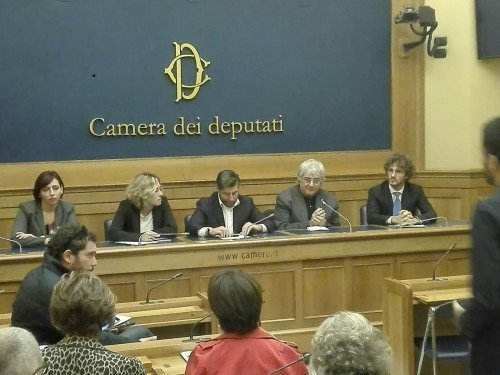 Comunicato Ufficiale - Press Conference a Montecitorio
